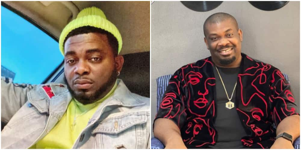 Don Jazzy arrested me with SARS: Kelly Hansome opposes producer's statement about treating people right