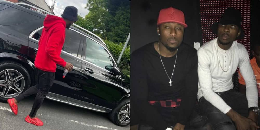 Bizarre Moment Iheanacho's Best Friend Crashed His Car After Going Live on Instagram With Only 3 Fans Watching