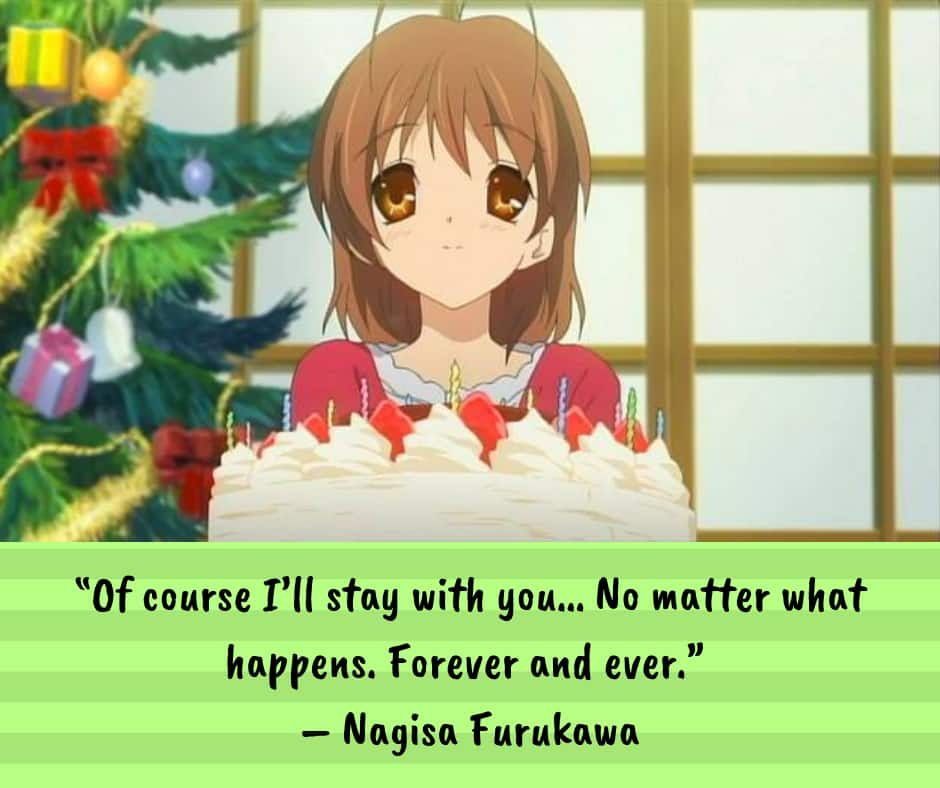 Anime quotes about love