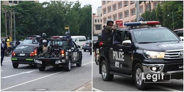 Omoyele Sowore arrested at venue of Nnamdi Kanu's trial