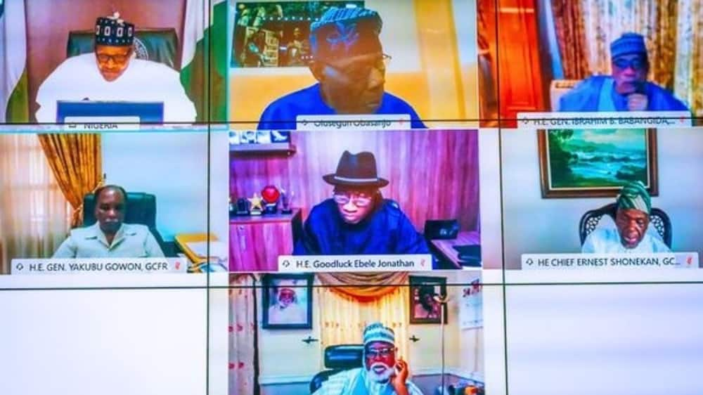 How #EndSARS protest was hijacked, misdirected, President Buhari tells former heads of state