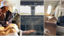 Tiwa Savage shares video of cockpit as she gets invitation from pilot to watch how they fly a plane