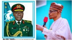 Farouk Yahaya: President Buhari Appoints New Chief of Army Staff