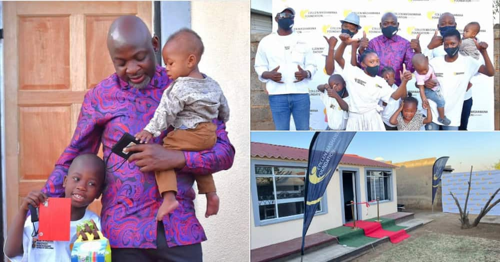 Businessman, Home, 9 Orphans, Provides, Celebrated, Reactions