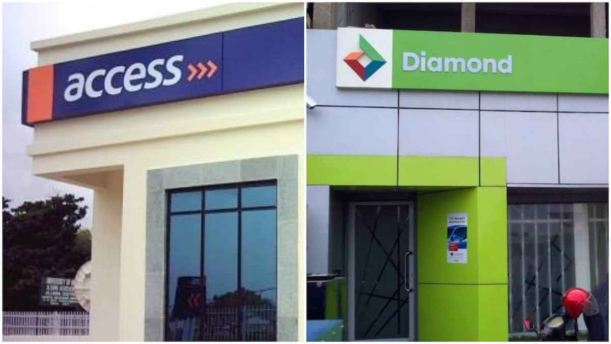 Image result for diamond bank and access bank