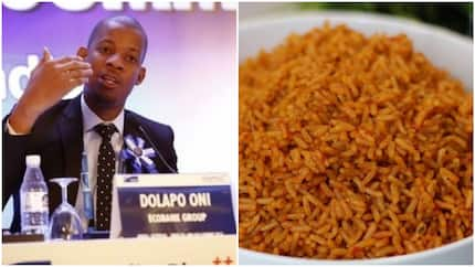 So romantic! Man narrates how he saved his wife from hunger in Lagos traffic with hot jollof rice prepared by him