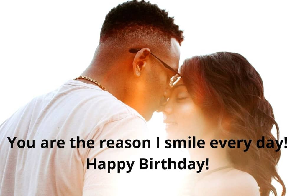 birthday message for a girlfriend