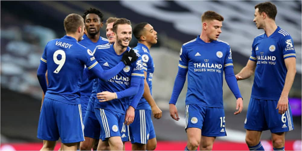 Tottenham vs Leicester City: Vardy scores as Foxes defeat Spurs by 2-0