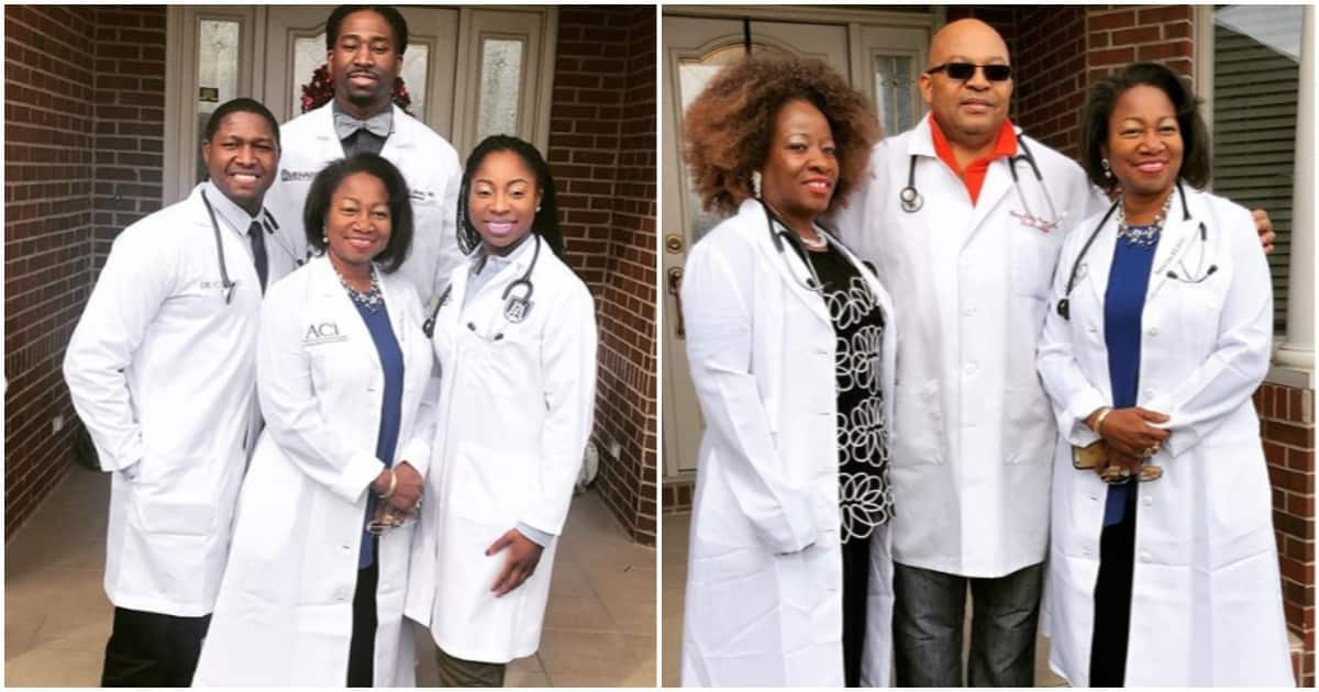 Nigeria: Discover the family where all the members are doctors (photos)