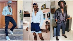 Best dressed circle: Male fashionistas rock stylish casual looks perfect for the weekend!