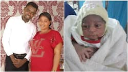 Nigerian couple welcome baby boy after 14 long years of marriage