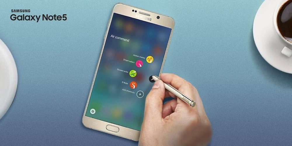 Samsung Galaxy Note 5 android version