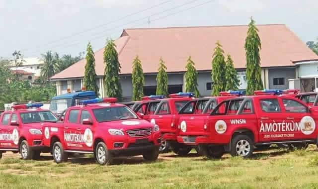 Amotekun: Ekiti Attorney General submits draft bill to Fayemi