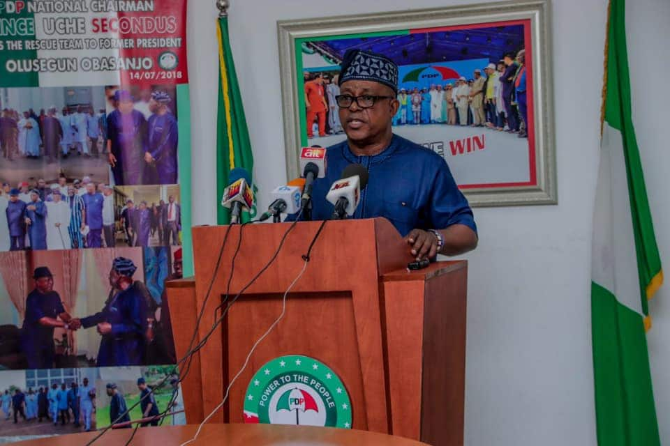 PDP BoT to Hold Emergency Meeting as Plot to Sack Secondus Thickens