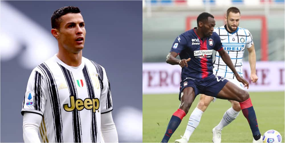 Super Eagles star fumes after Ronaldo refuses to swap shirts with him