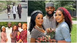 I spend time with one Mondays and Tuesdays; Man who married two pretty wives explains in video, causes stir
