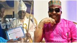 Veteran musician Sir Shina Peters ordained as bishop of Cherubim and Seraphim church
