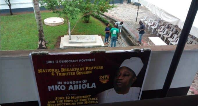 Robbery incident: MKO Abiola's sons claim their stepmother got them arrested, sue police