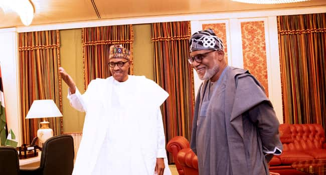 Ondo 2020: Call Akeredolu to order, PDP advises Buhari