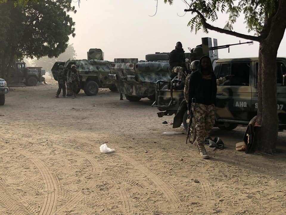 Sojoji sun yi murna bayan ragargazar 'yan Boko Haram a Baga