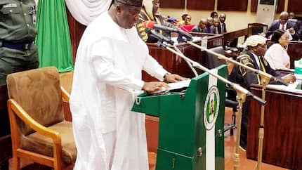 Governor Ugwuanyi presents N109.199 billion 2019 budget estimates