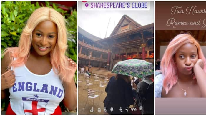 DJ Cuppy goes on date with her mystery oyibo boo, shares photos
