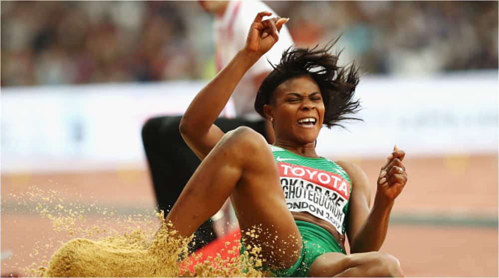 Heartbreak As Nigerian Athlete Okagbare Loses Appeal, Begins Four-Year Ban Over Banned Drugs
