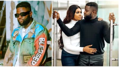Photos of rapper Skales and fiancee from their pre-wedding shoot surface online
