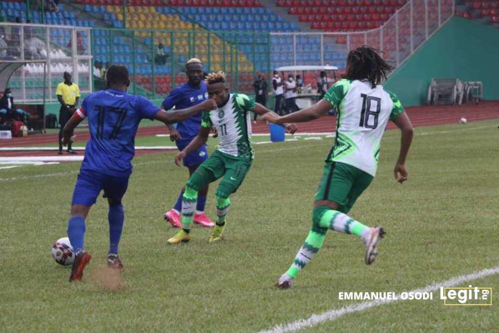 Nigeria vs Sierra Leone: Alex Iwobi says Super Eagles will put things right