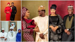 How can you post your wife's photo on Twitter? Reactions as newly married couple share their marriage pictures