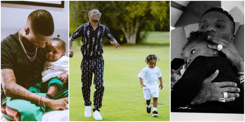 11 Cute Daddy and Me Moments of Wizkid with His Son Zion