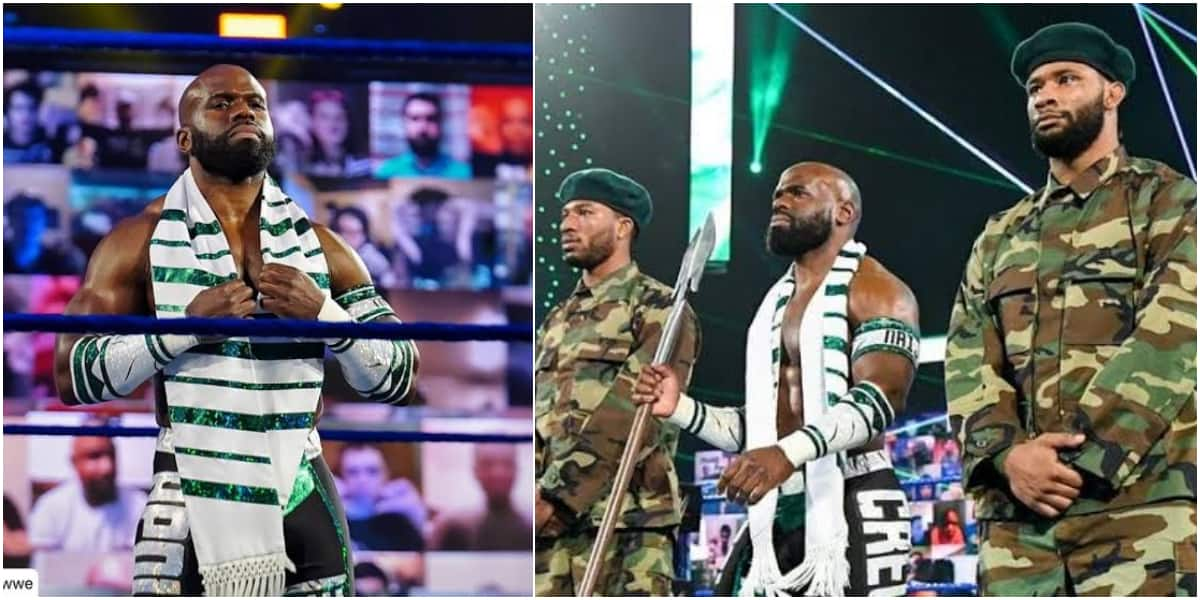 Nigerian-Born American Wrestler Apollo Crews Celebrated Online as he  Becomes Intercontinental Champion ▷ Nigeria news | Legit.ng