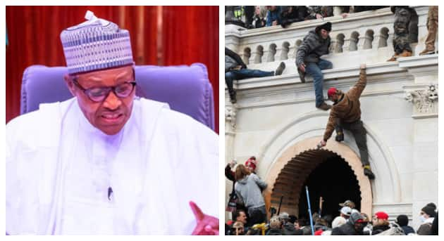 Capitol invasion: Presidency sends strong warning to Nigerians