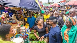 Osinbajo storms Abuja communities, promise women 'Next level of TraderMoni'