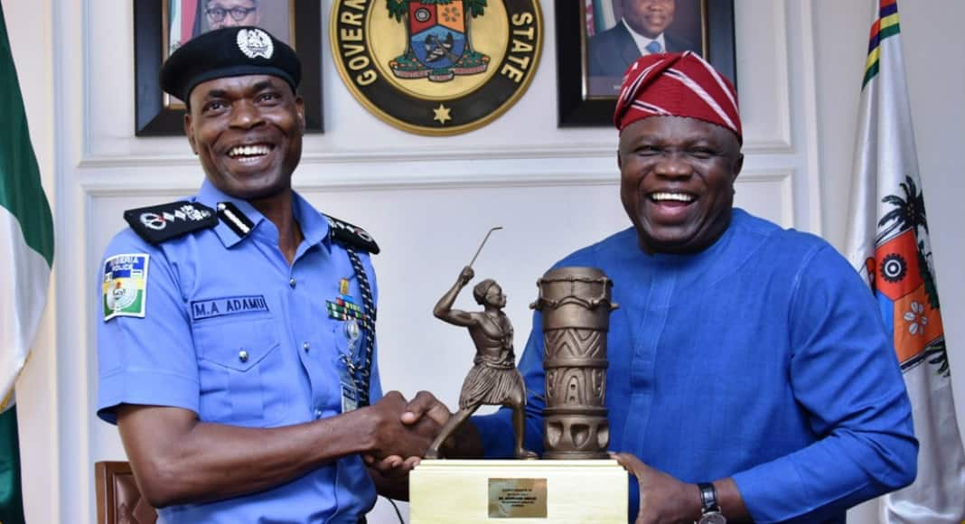 No killer policeman will be saved - IGP goes tough, visits Governor Ambode