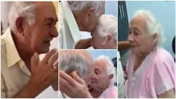 Moment very old grandparents who were apart for a week reunite, their sweet video goes viral