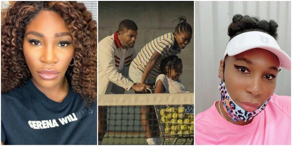 Will Smith, Serena, and Venus Williams