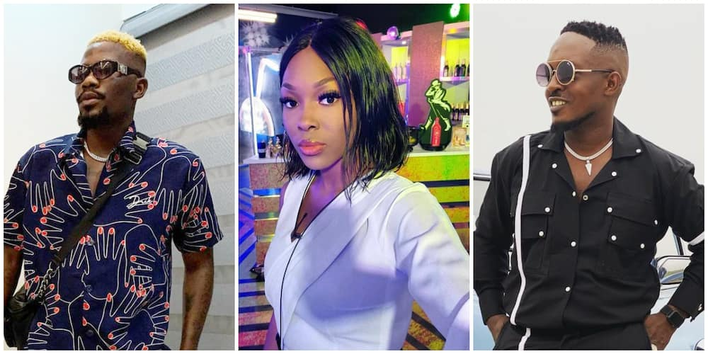 After Performing Cover of M.I's Track, BBNaija's Vee and Rapper Ycee Sweep Nigerians off Their Feet