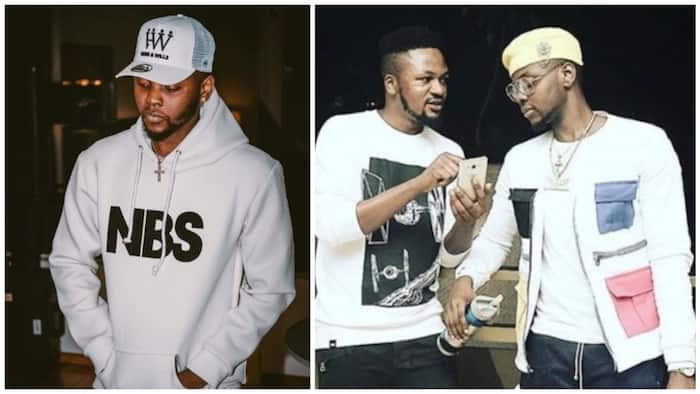 Kizz Daniel fires his manager after he was allegedly slapped by Davido