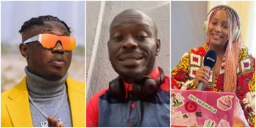 Comedian Mr Jollof advises Zlatan Ibile to settle with DJ Cuppy, gives reasons (video)