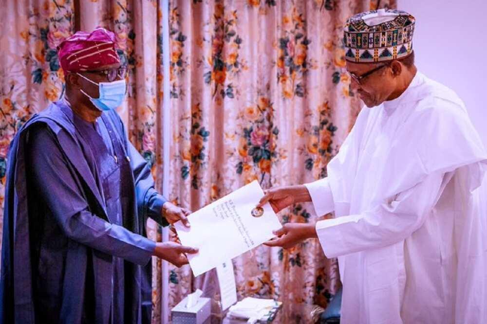 EndSARS : Gwamnan Lagas ya gana da Buhari a Aso Rock