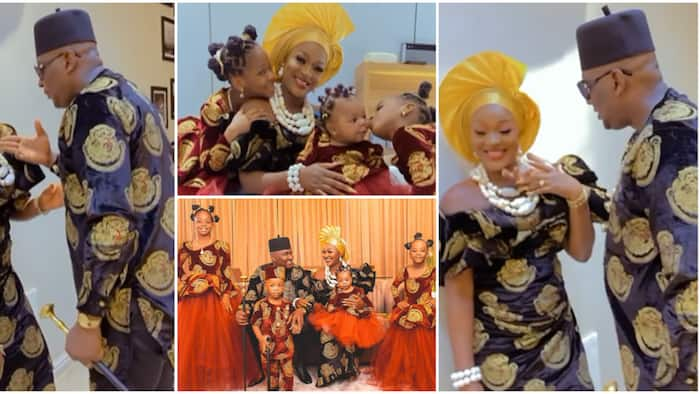 Chacha Eke Faani shares family photos, video and moment hubby rained sweet words on her during photoshoot