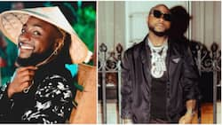 Even the water is expensive: Hilarious reactions as Davido shares photo, embraces water diet