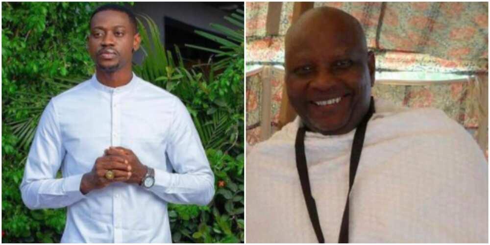 Lateef Adedimeji celebrates dad's birthday