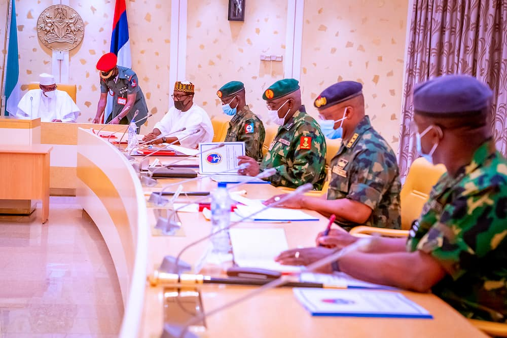 Security chiefs are expected to brief Buhari on the insecurity situation in the country.