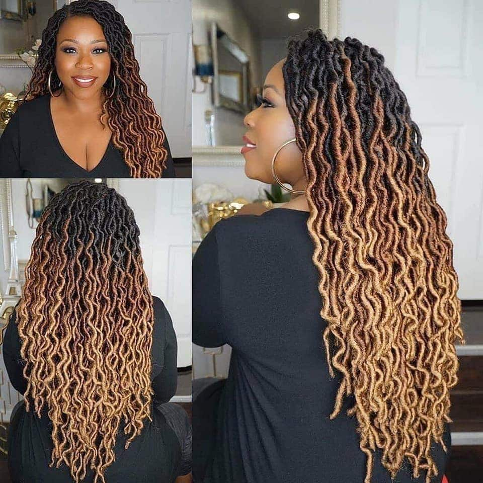 faux locs hairstyles