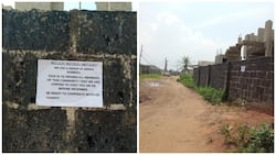 Resident cries out over armed robbery threat in his neighbourhood (photos)