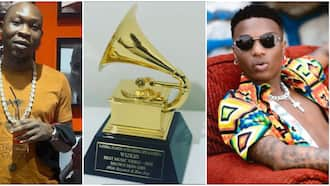 Album no be music video: Seun Kuti continues to shade Wizkid's Grammy win despite arrival of plaque