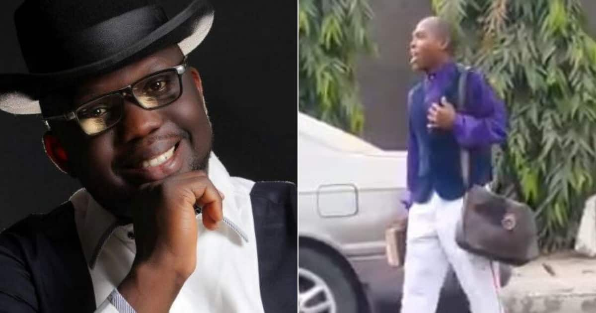 Evangelist cries out while preaching on the street, tells God 'I need a car, enough is enough' (video)