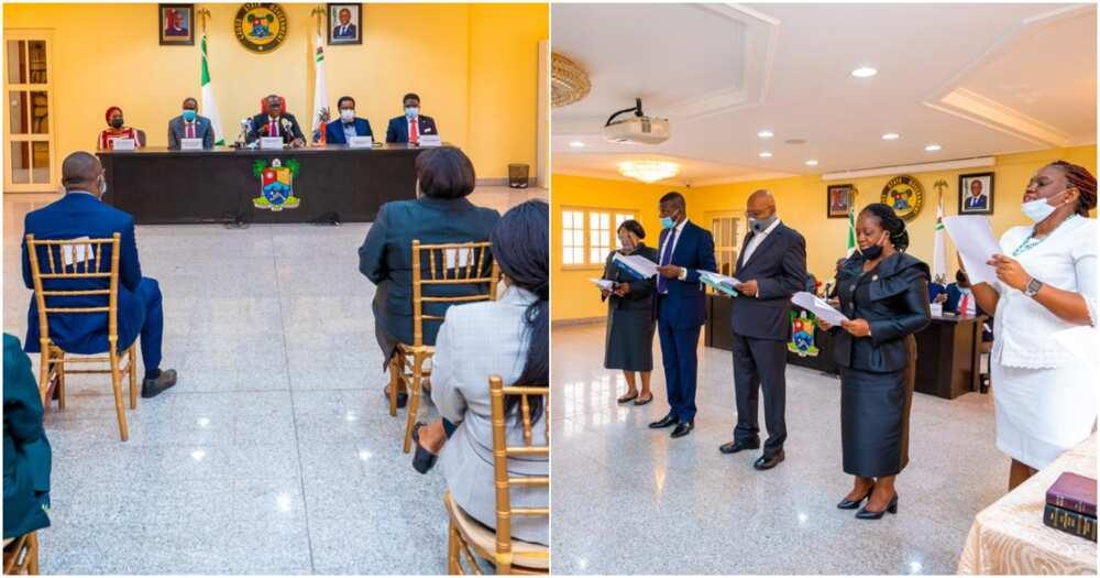 Police brutality: Sanwo-Olu inaugurates 8-man judicial panel of enquiry